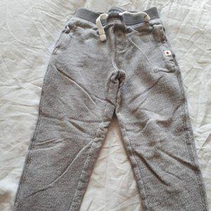 CANADIANA - Grey Track Pants - Size 6 (Unisex)